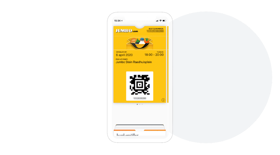 Mobile Wallet Ticket