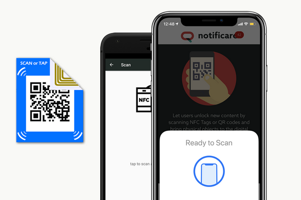 NFC tags for contextual marketing