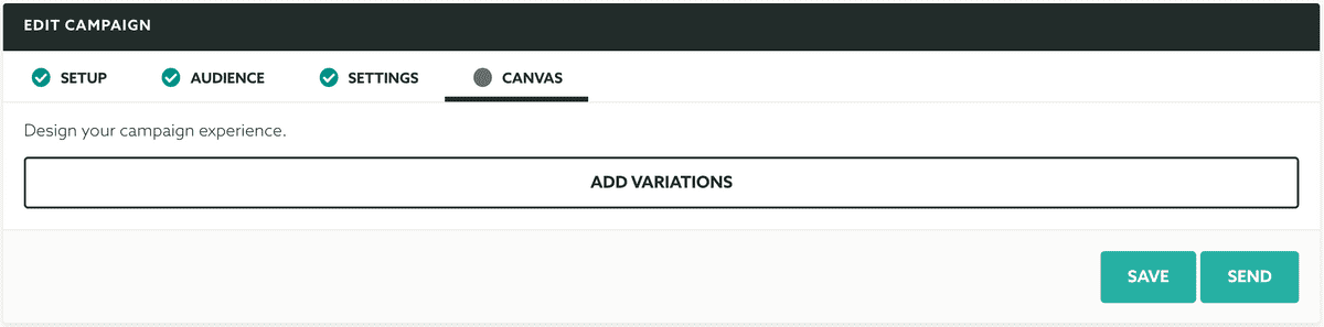 A/B & Multivariate Testing Canvas